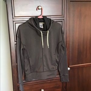 The North Face funnel neck hoodie. EUC